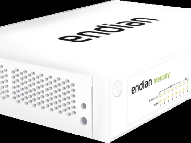 Endian UTM Mercury bietet branchenführende UTM-Leistung für mittelgroße Netzwerke. Diese Appliance bietet außerdem ein Höchstmaß an Verfügbarkeit mit schnellem SSD-Speicher und...