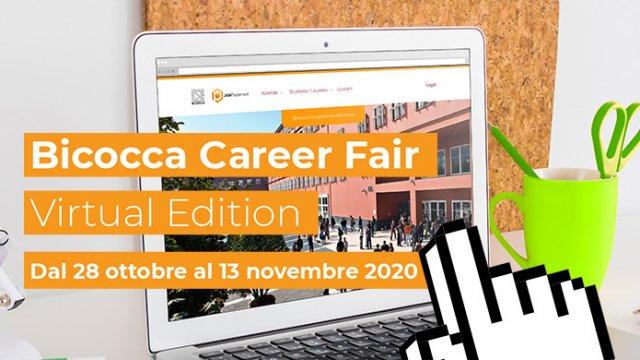 Endian è lieta di partecipare allevento Bicocca Career Fair Virtual Edition, in collaborazione con la divisione Job Placement dellUniversità milanese.