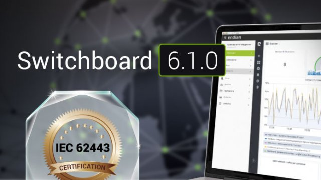 Endian is proud to announce that with the release of Switchboard 6.1.0 that the Secure Digital Platform (Switchboard and 4i Edge X) are IEC 62443 certified for both 62443-3-3 (System Security) and 624