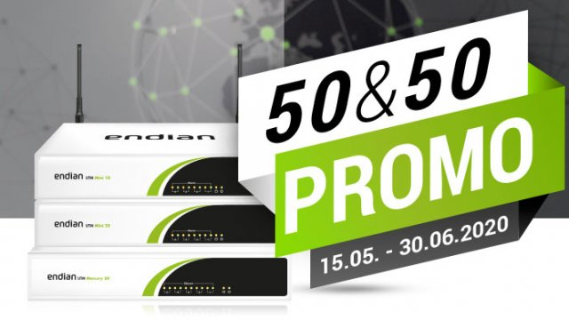 50% discount on maintenance and 50€ discount on WiFi hardware